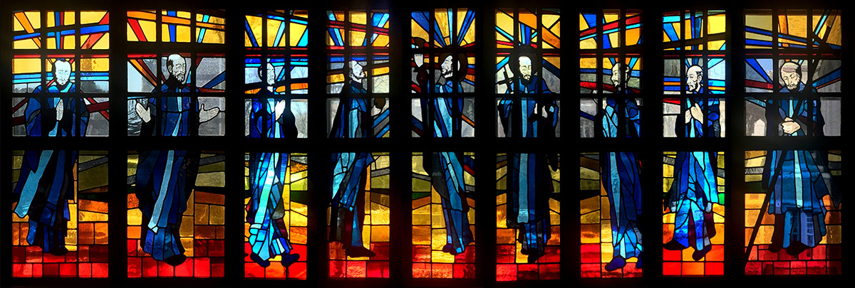Pablo Eduardo - Founder's Chapel Stained Glass