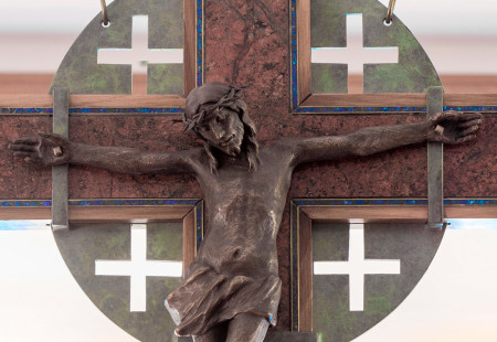 Founder's Chapel - Crucifix